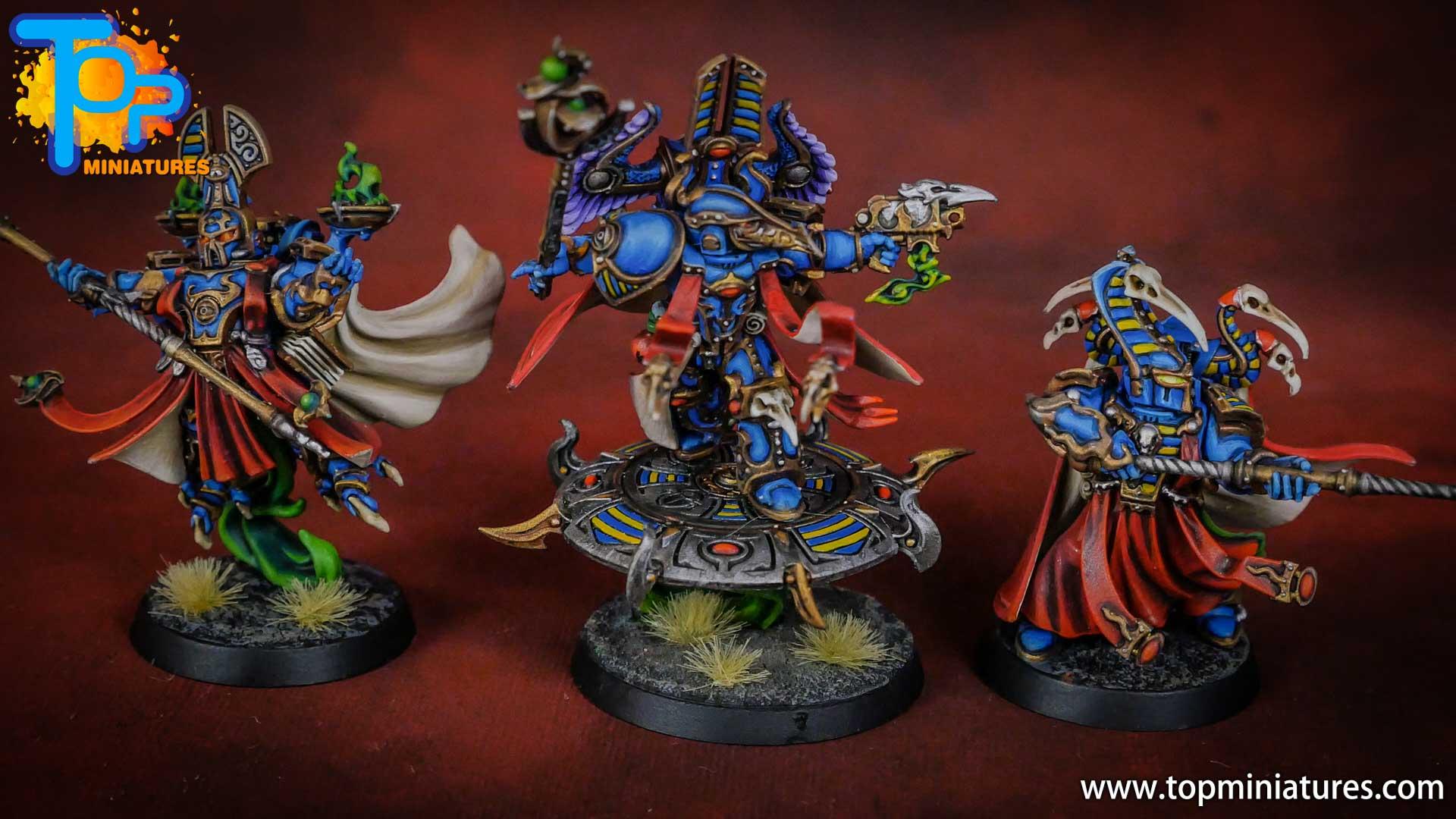 painted tzeentch exalted sorcerers (7)