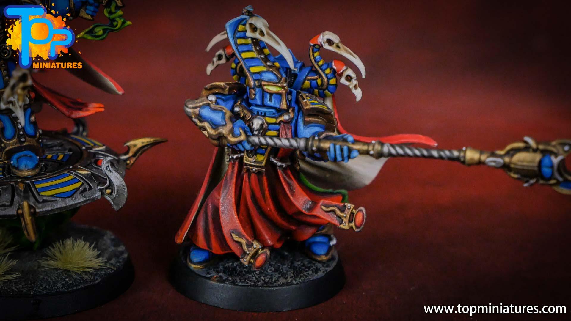 painted tzeentch exalted sorcerers (8)