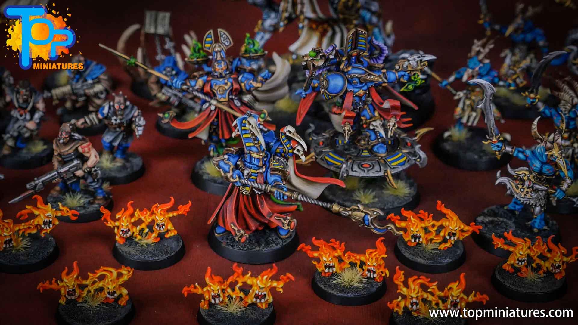 painted tzeentch warhammer 40k army (3)