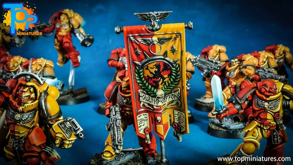 Howling griffons primaris marines