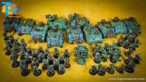 salamanders space marines painted army (4)
