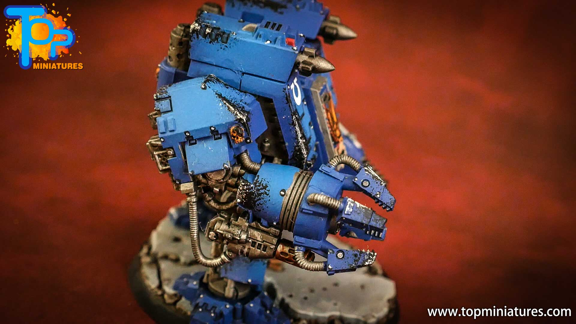 space marines ultramarines ironclad dreadnought (3)