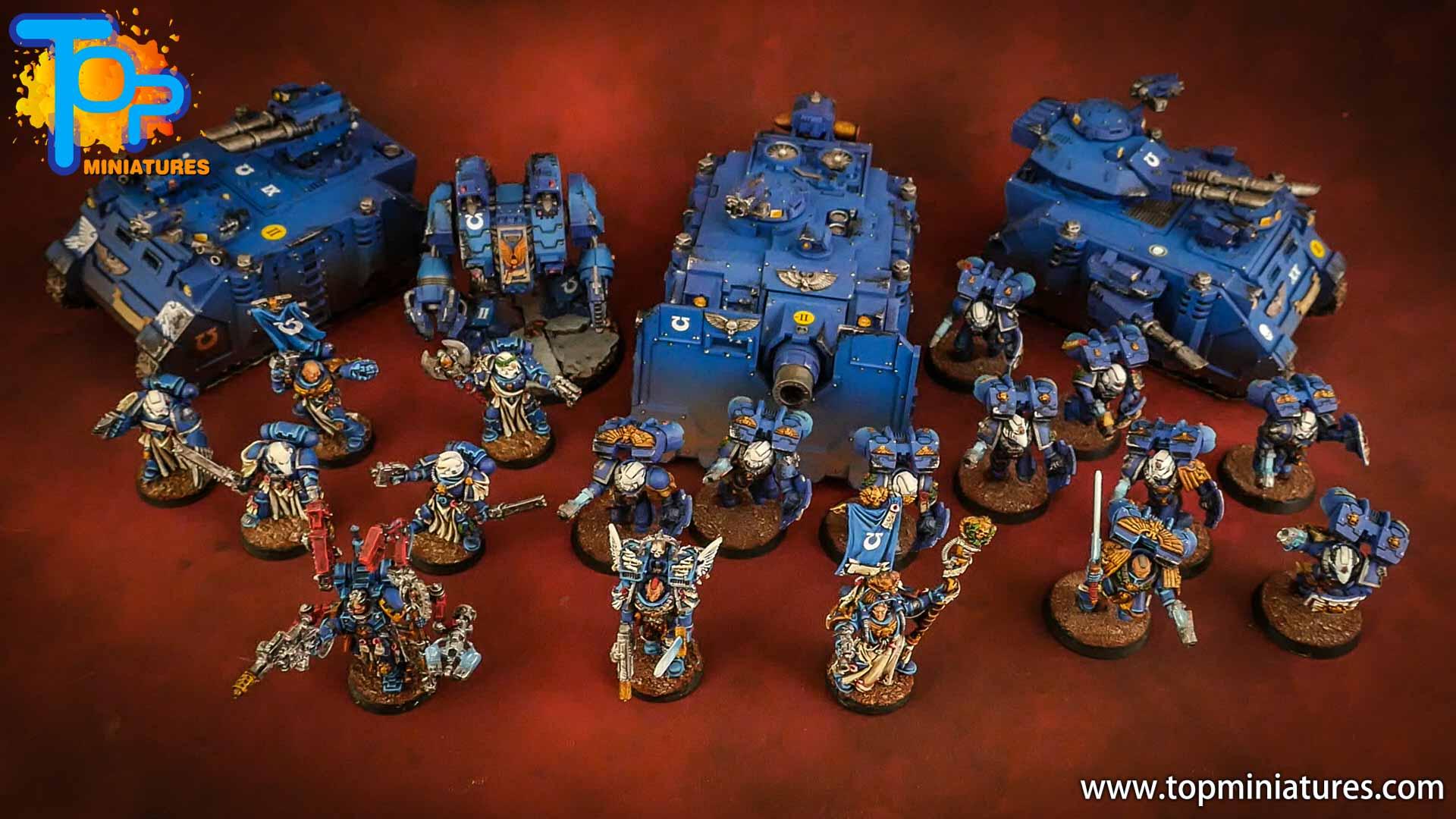space marines ultramarines painted army (3)