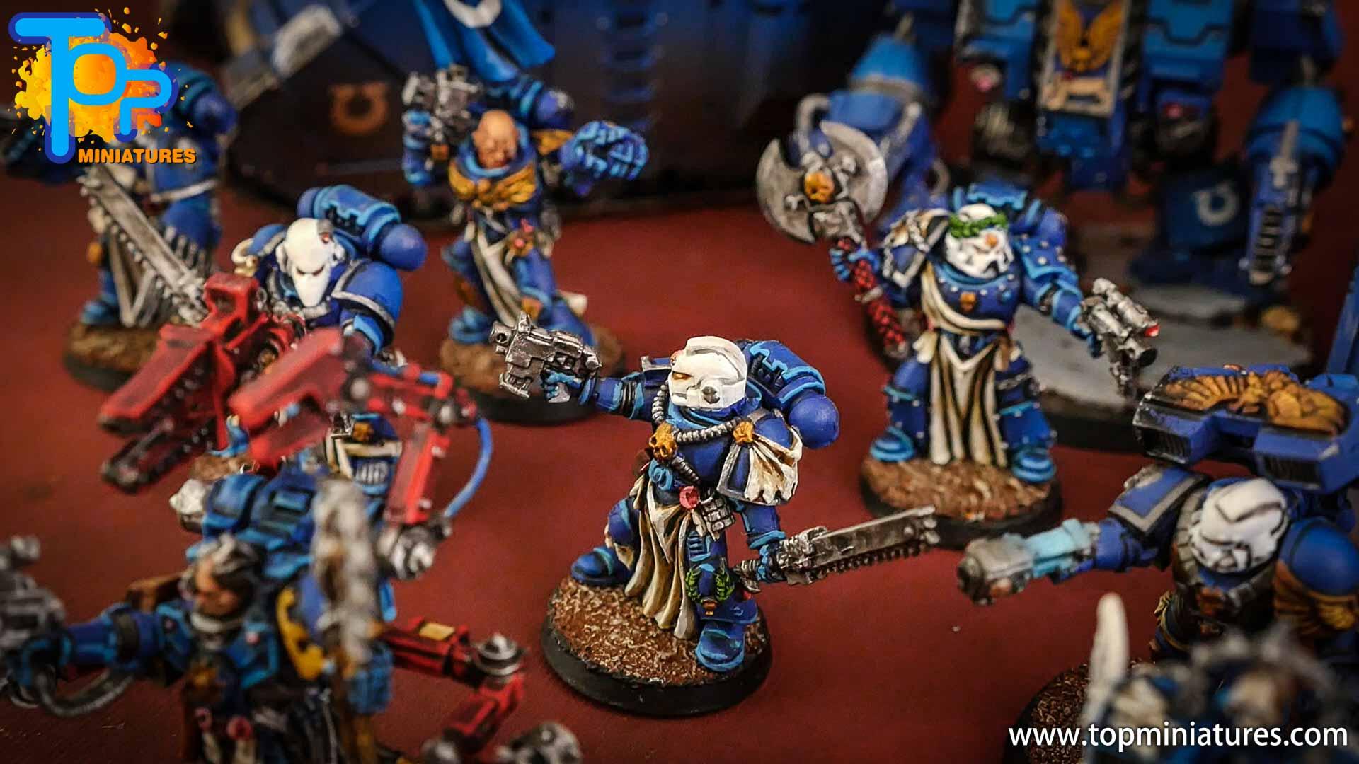 space marines ultramarines painted army (6)