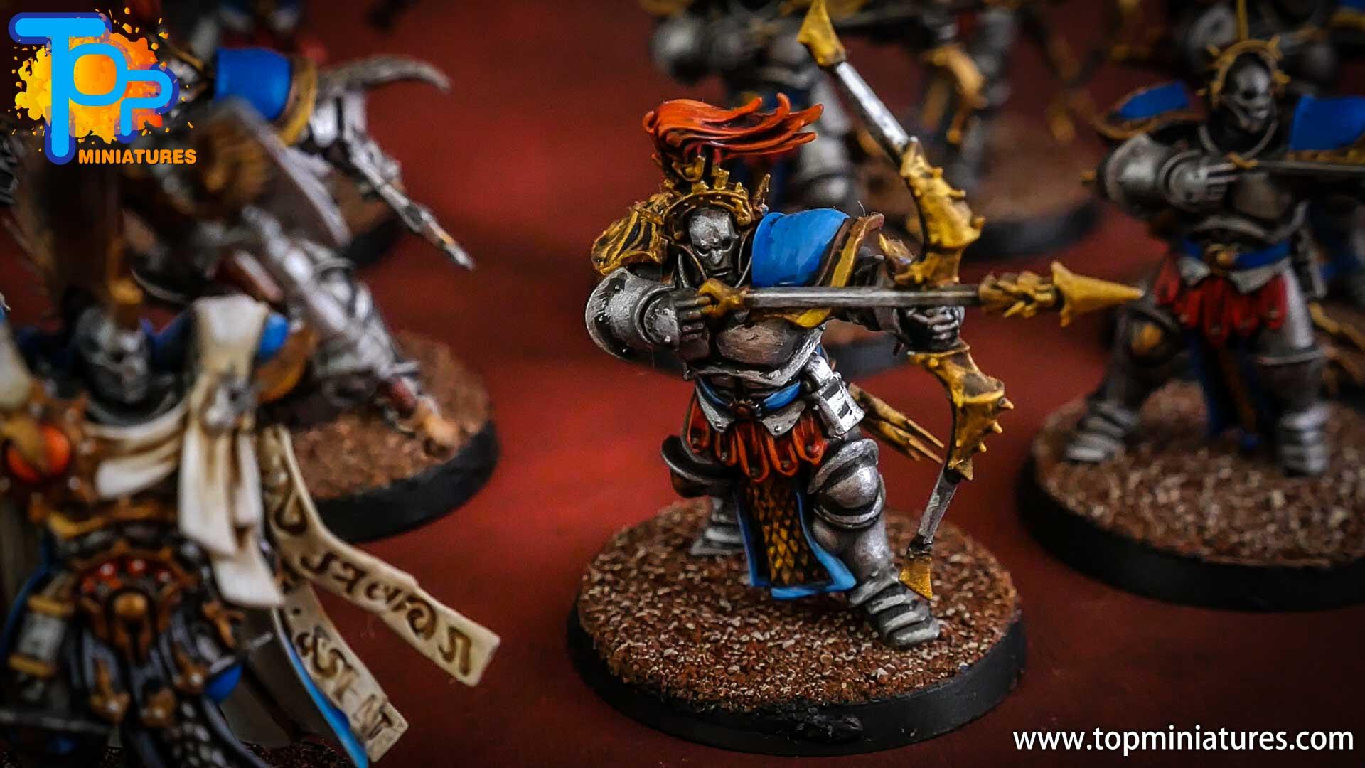 stormcast eternals painted judicators bow (2)