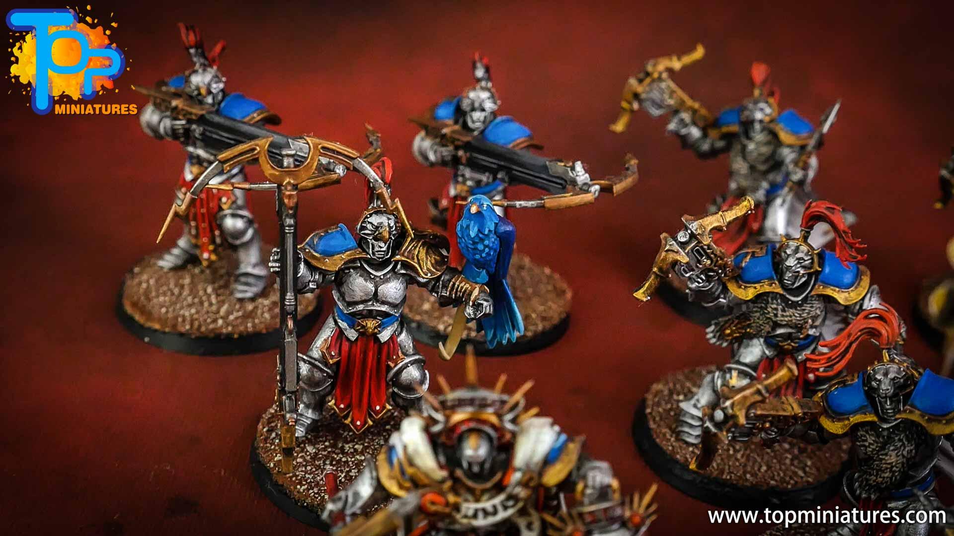 stormcast eternals painted vanguard hunters (1)