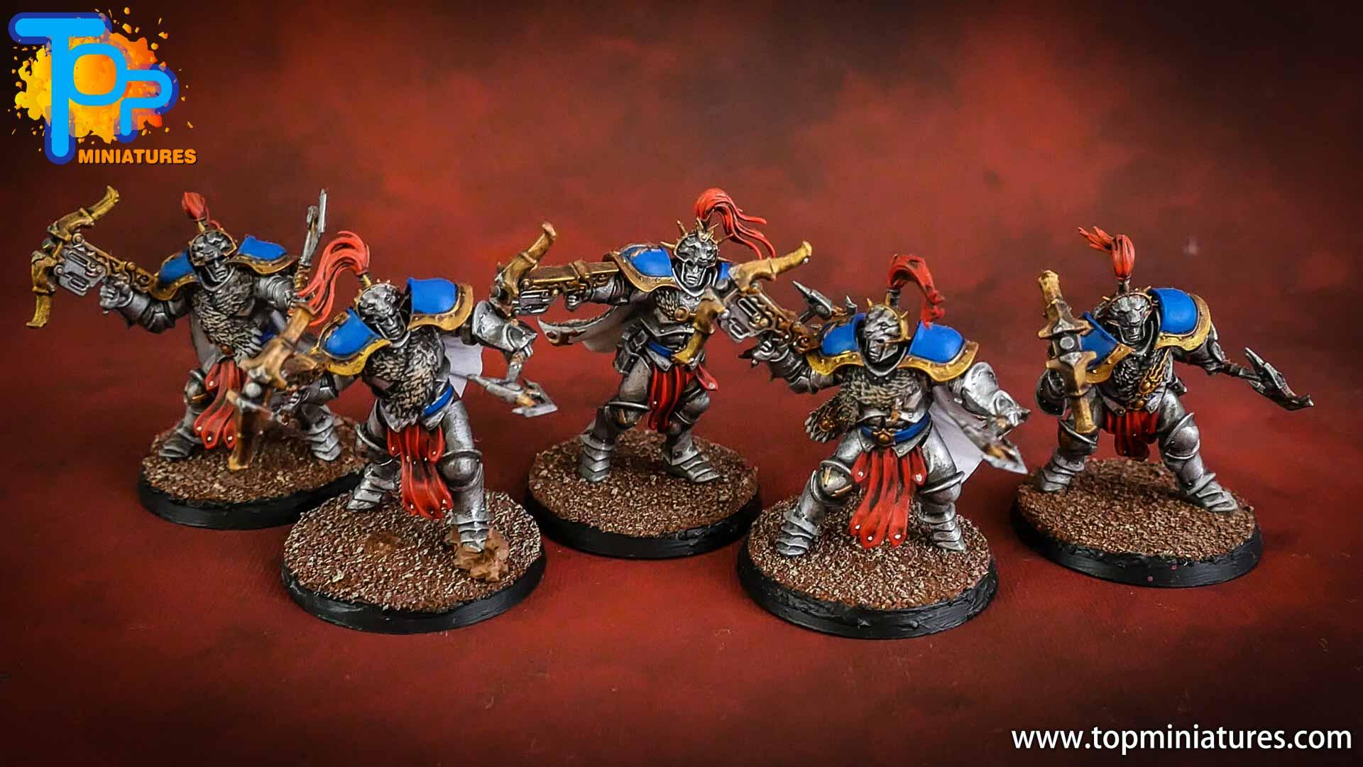 stormcast eternals painted vanguard hunters (2)