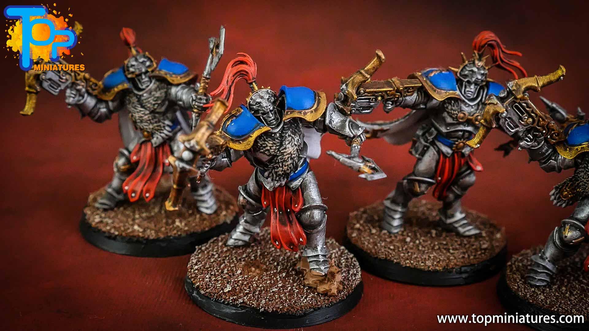 stormcast eternals painted vanguard hunters (4)