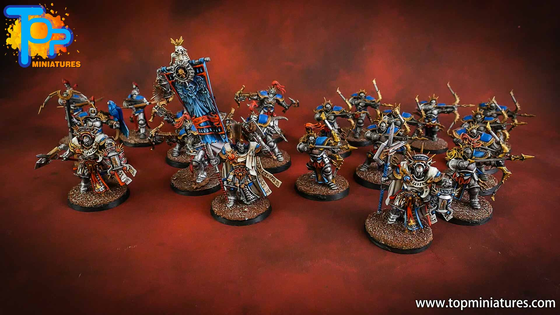 stormcast eternals pro painted army