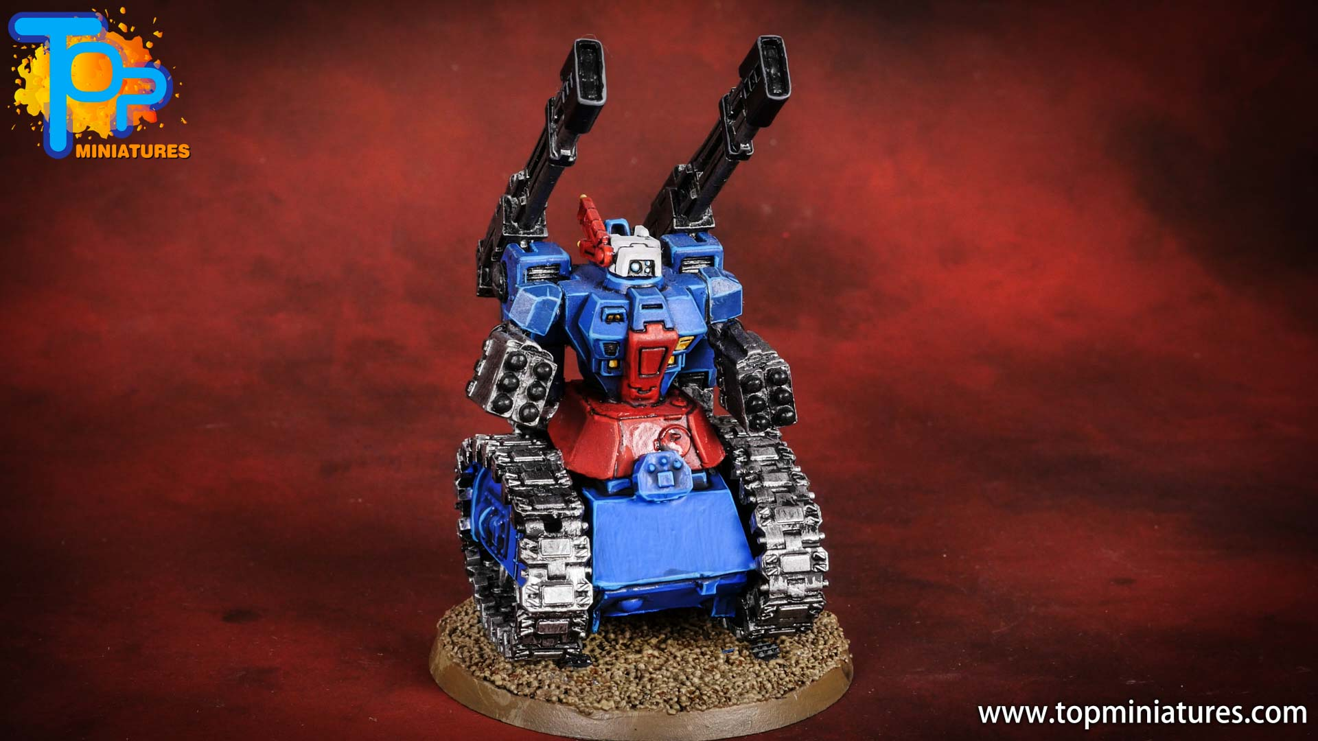 tau empire gundam tank conversion (4)