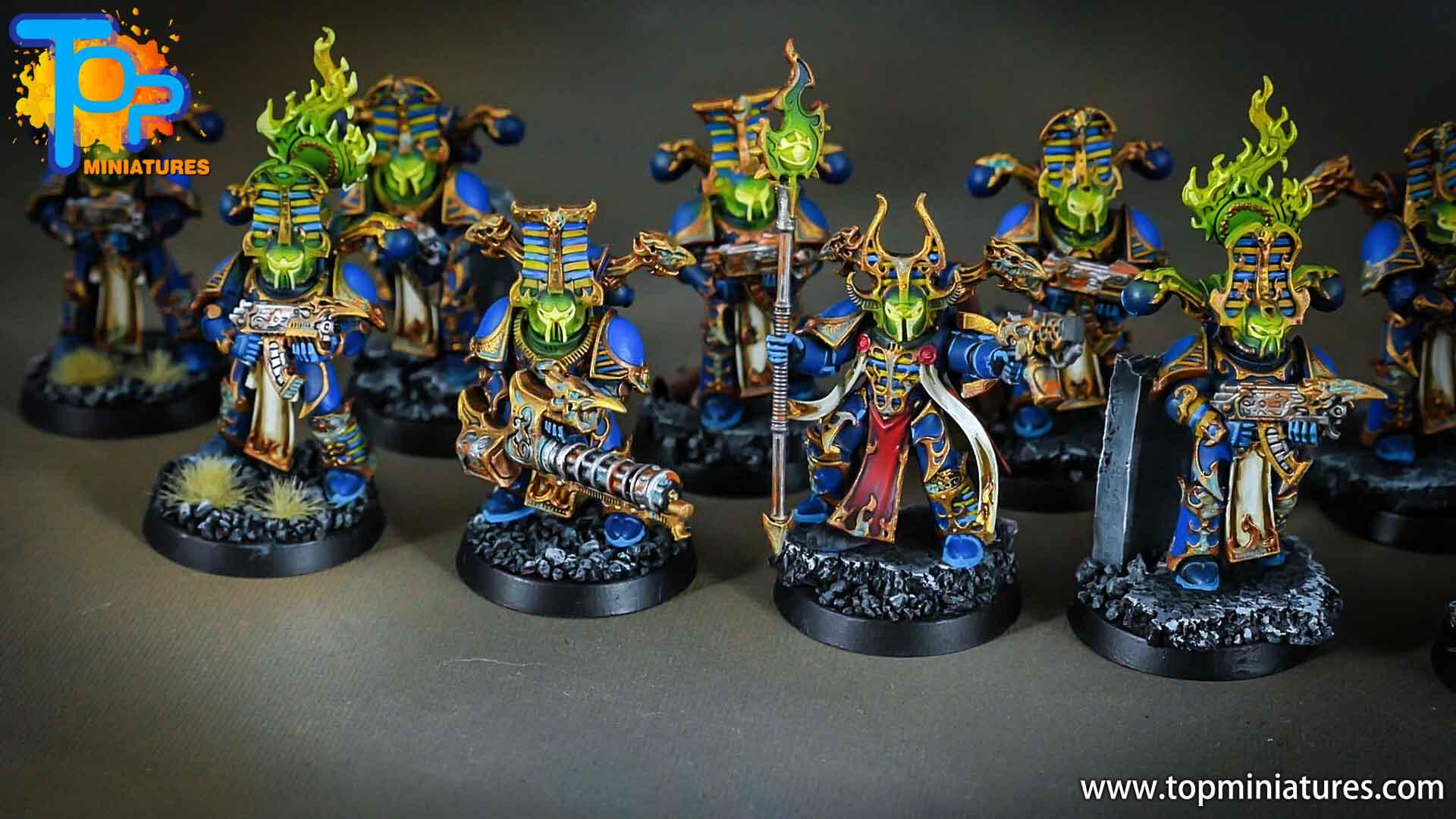 thousand sons rubric marines green glow (1)