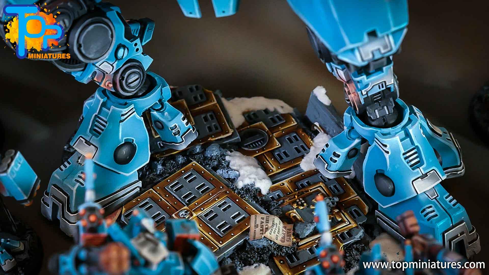 top miniatures tau empire bases