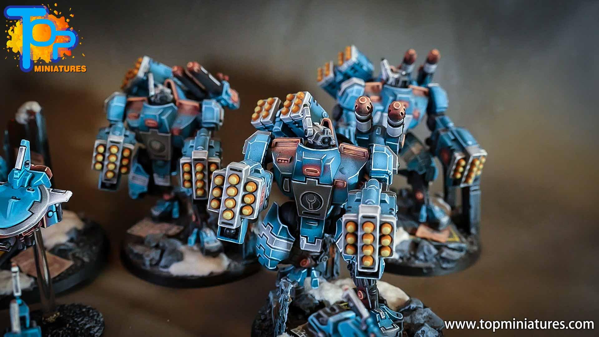 top miniatures tau empire broadsides (1)