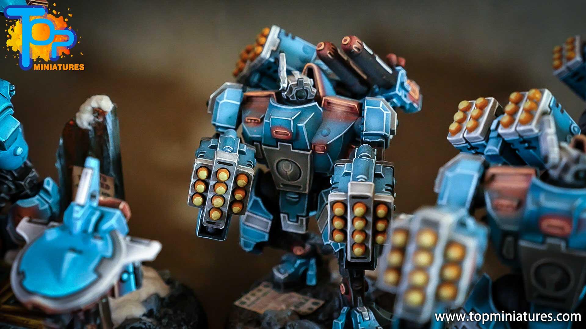 top miniatures tau empire broadsides (2)