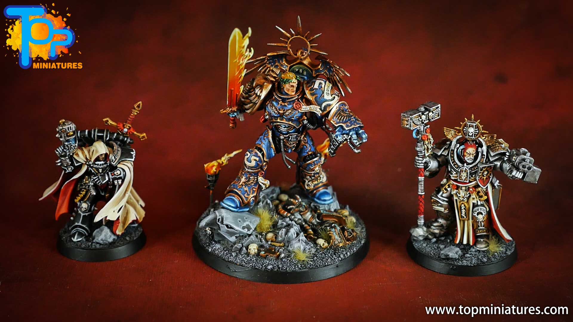 triumvirate of the primarch painted (5)