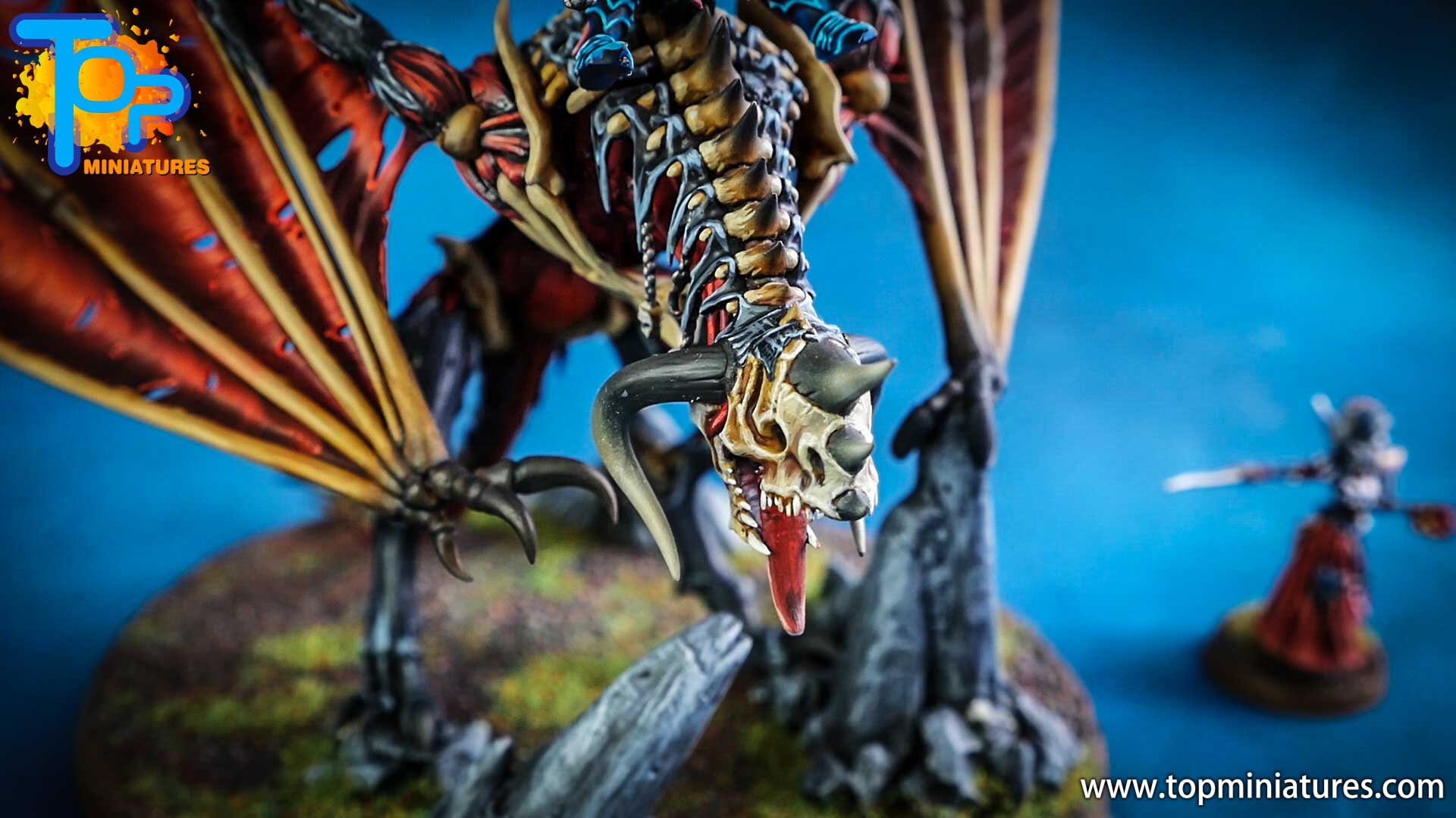 vampire counts lord on zombie dragon (3)