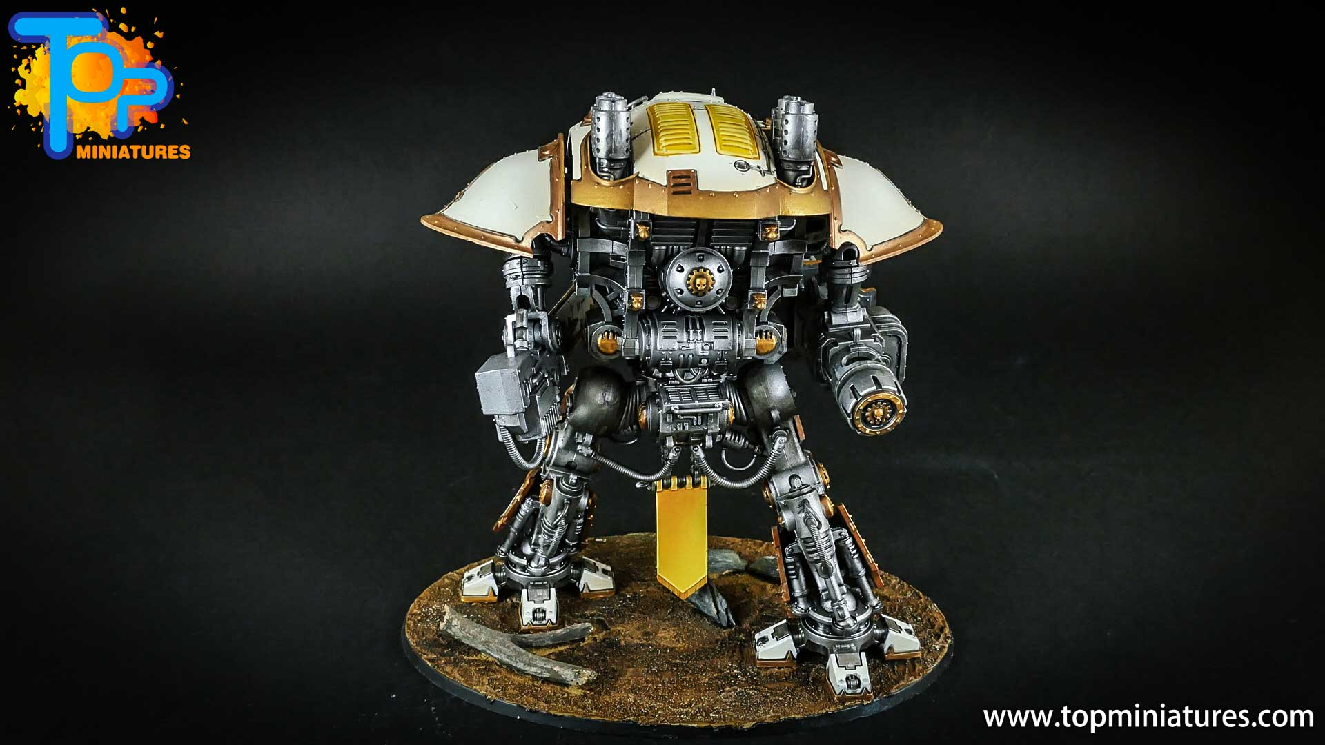 warhammer 40k painted imperial knight (1)