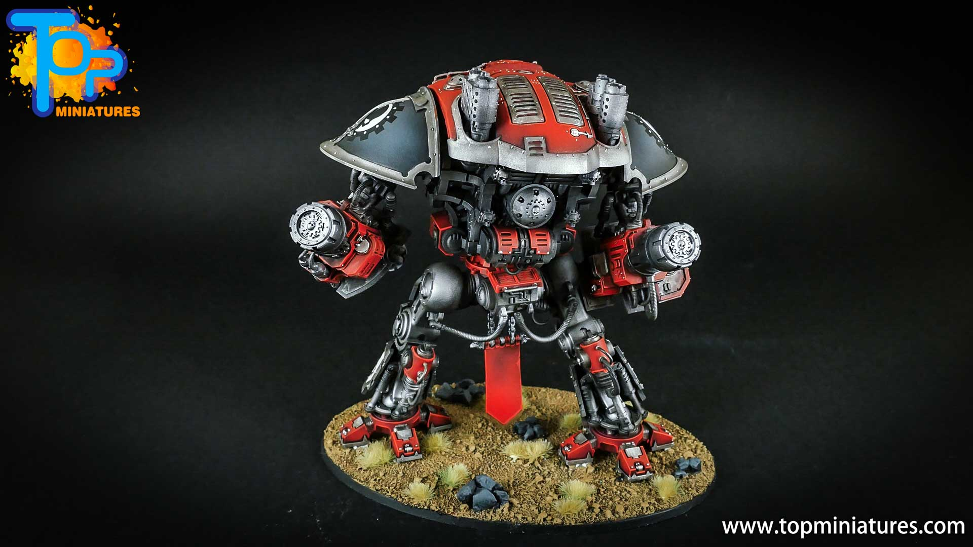 warhammer 40k painted imperial knight (12)
