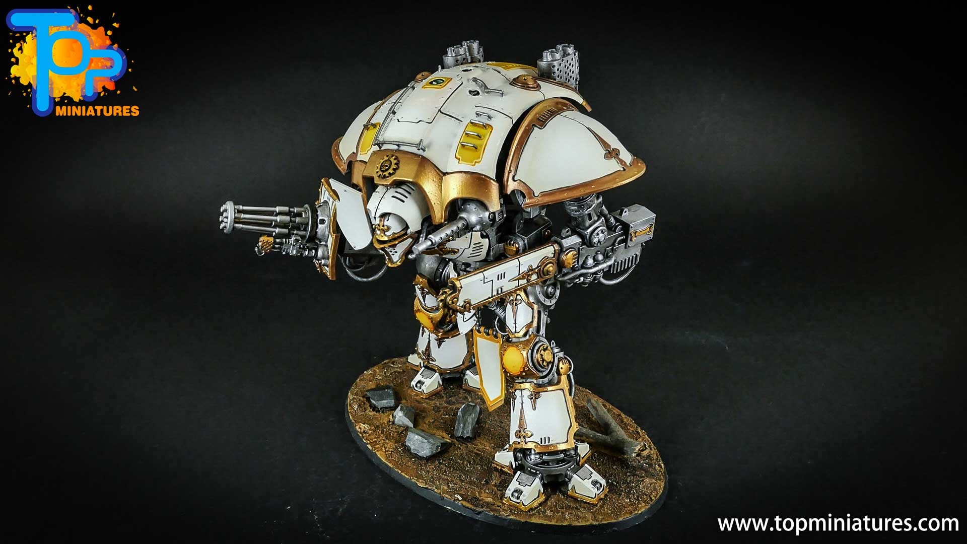 warhammer 40k painted imperial knight (13)