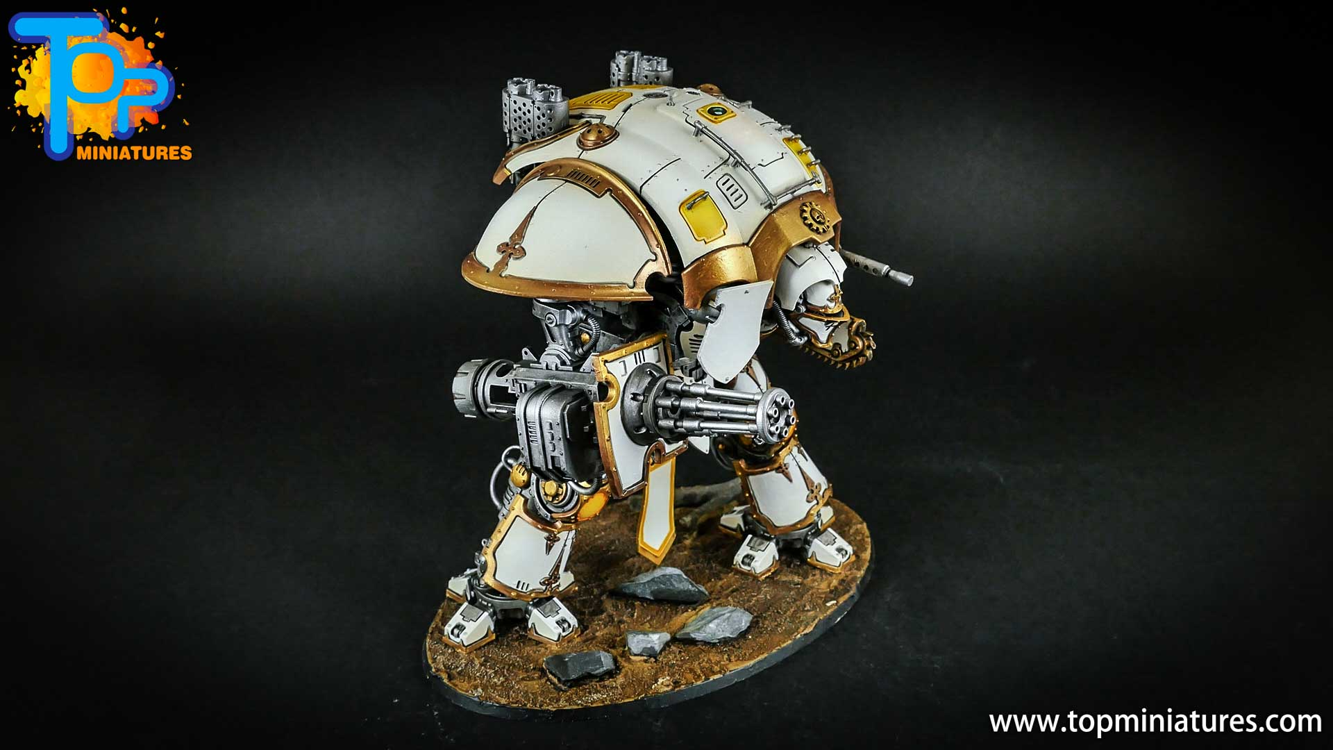 warhammer 40k painted imperial knight (14)