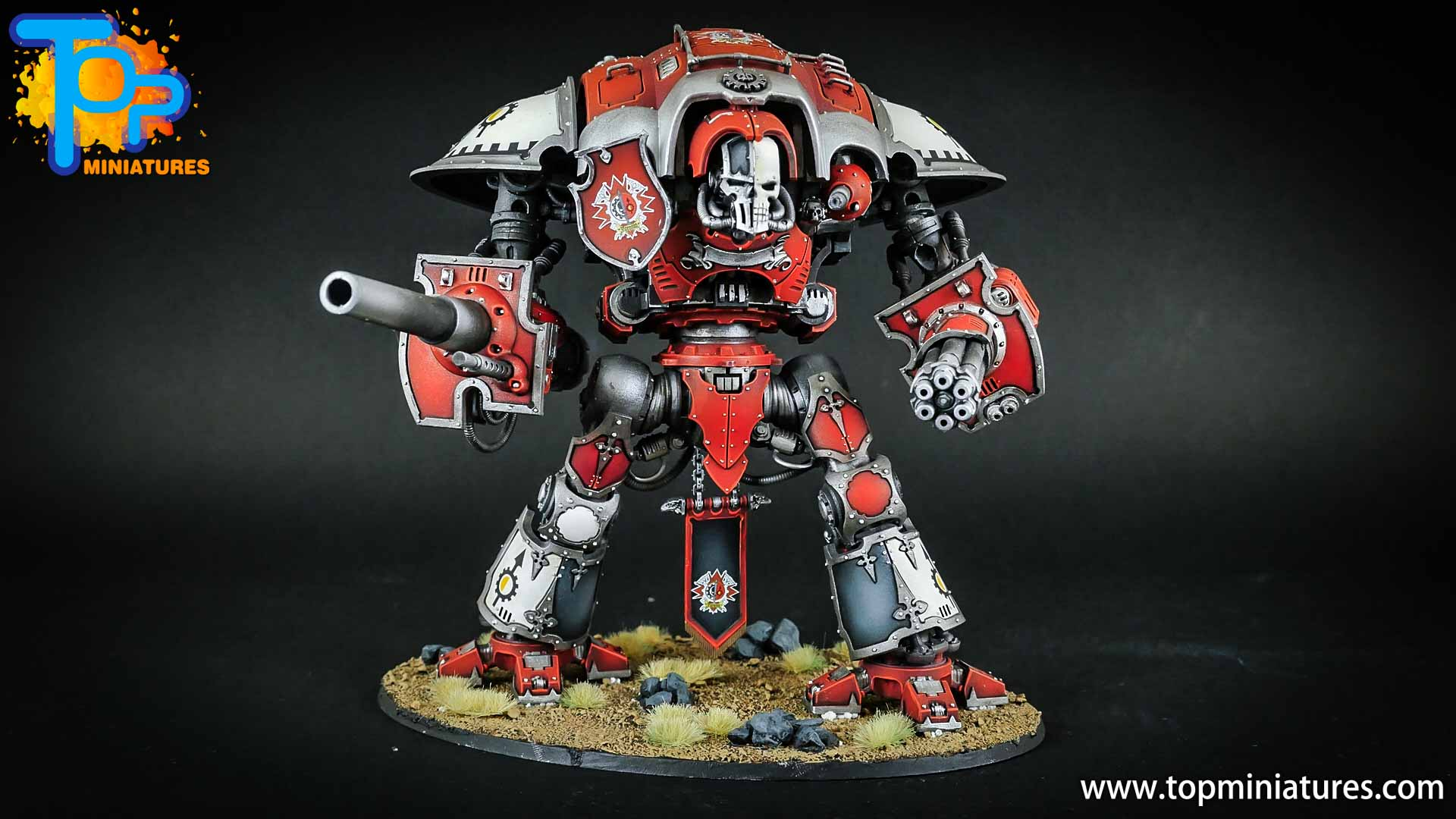 warhammer 40k painted imperial knight (3)