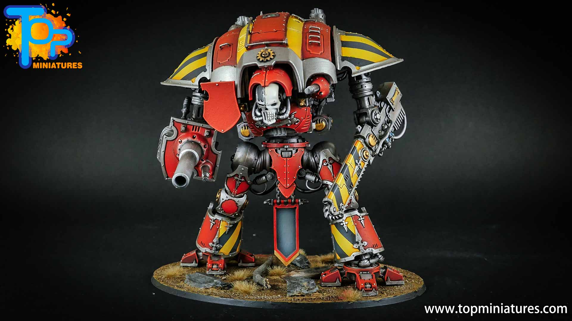 warhammer 40k painted imperial knight (5)