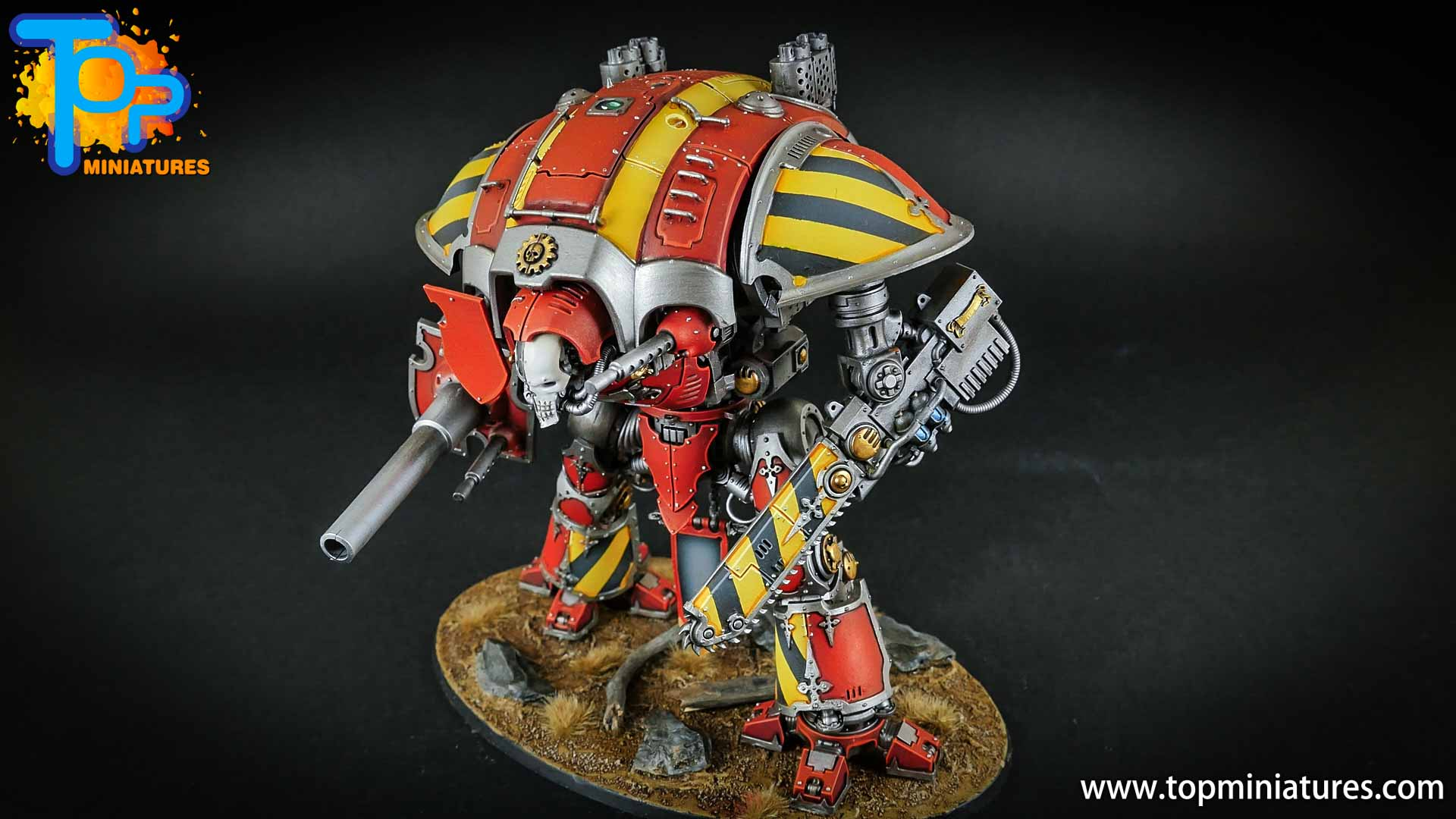 warhammer 40k painted imperial knight (6)