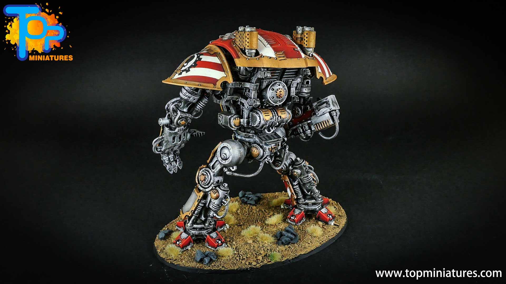 warhammer 40k painted imperial knight (9)