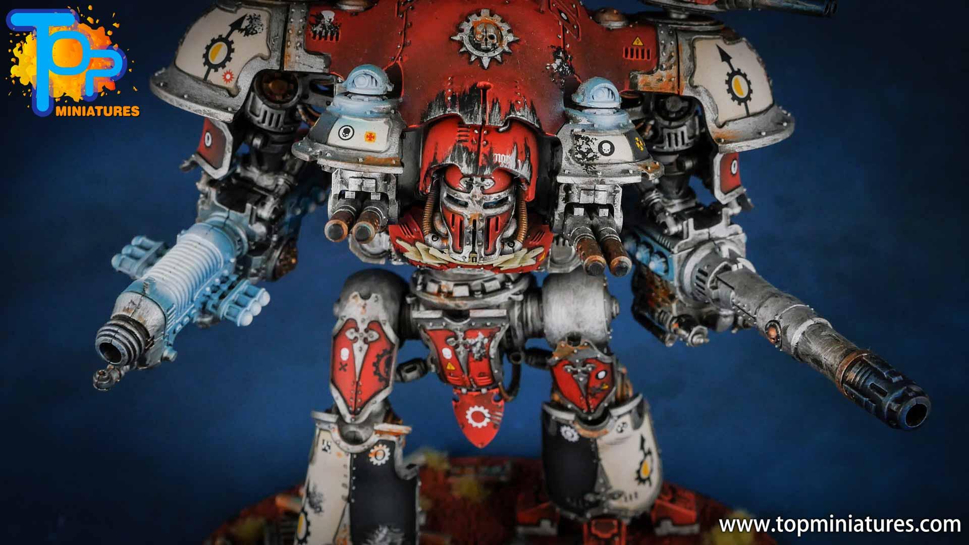 warhammer 40k painted knight castellan (2)