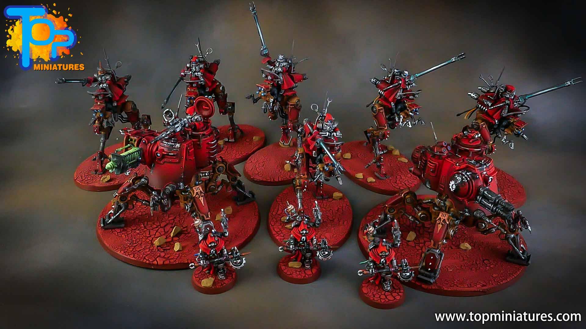 warhammer adeptus mechanicus skitarii army
