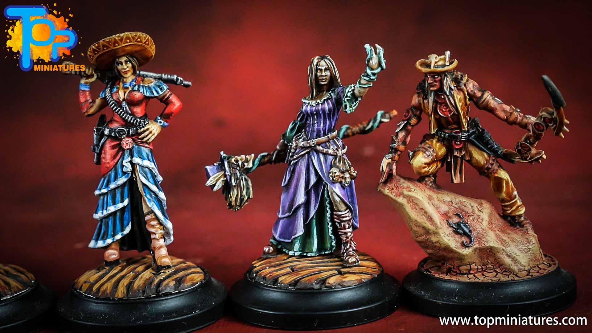 wild west exodus painted shaman girl