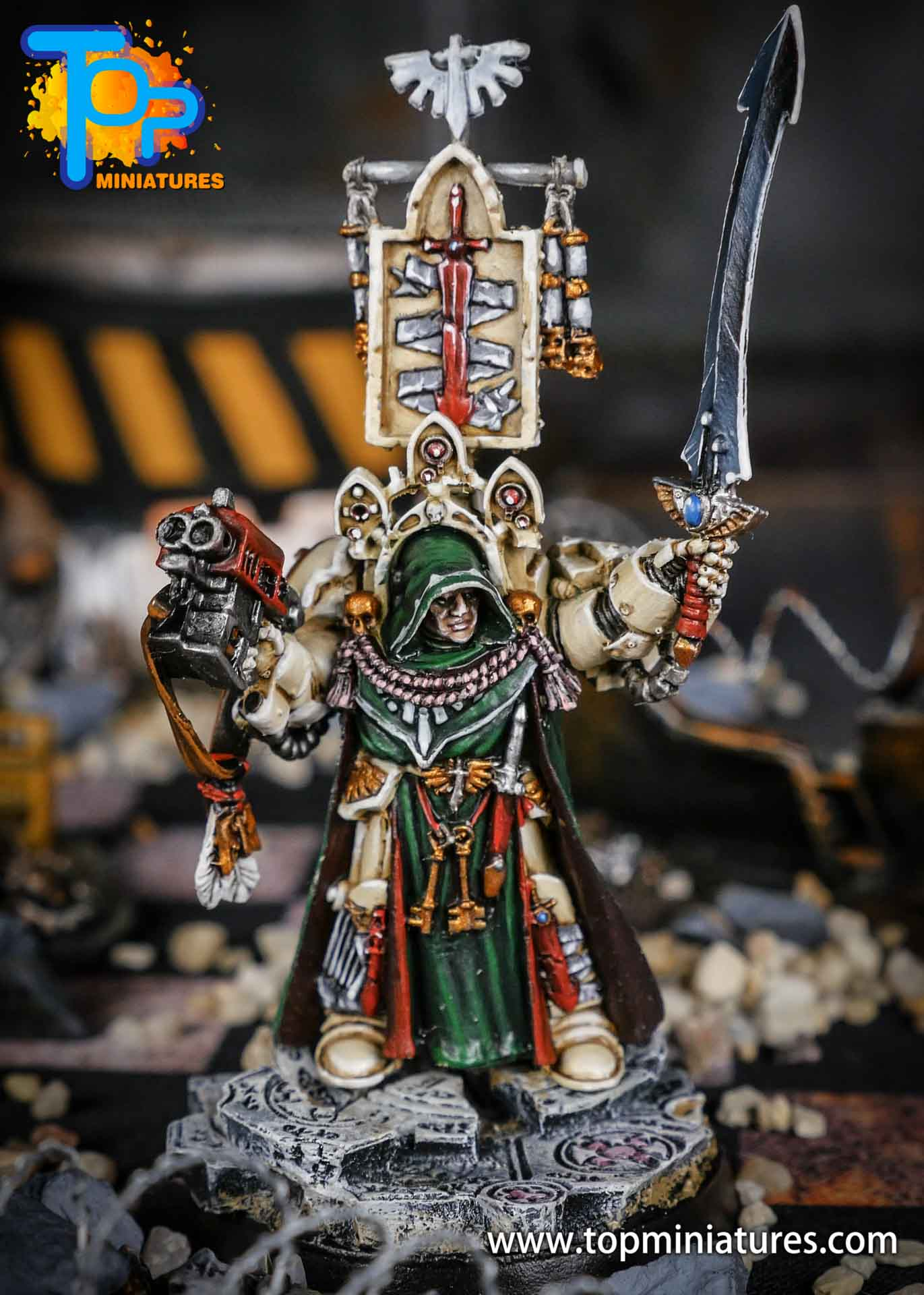 Dark Angels Belial pro painted (2)
