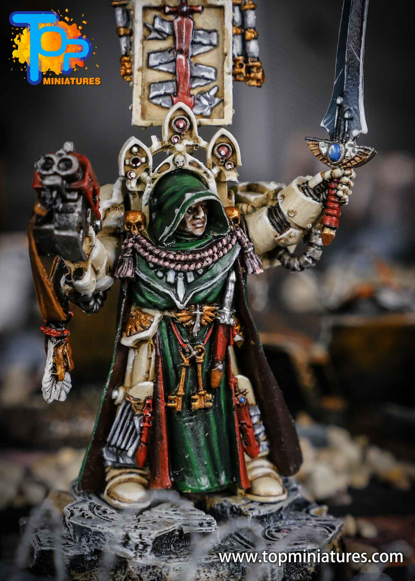 Dark Angels Belial pro painted (3)