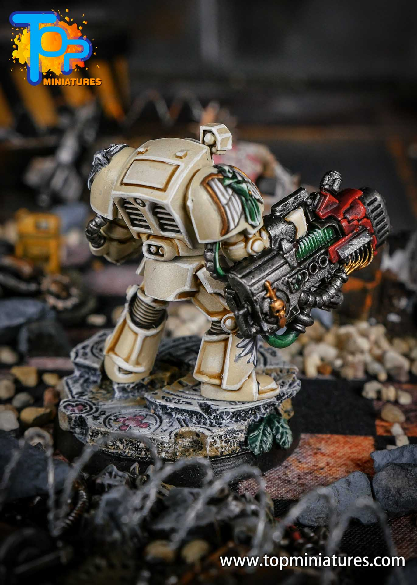 Dark Angels Deathwing Terminator Plasma Cannon (1)
