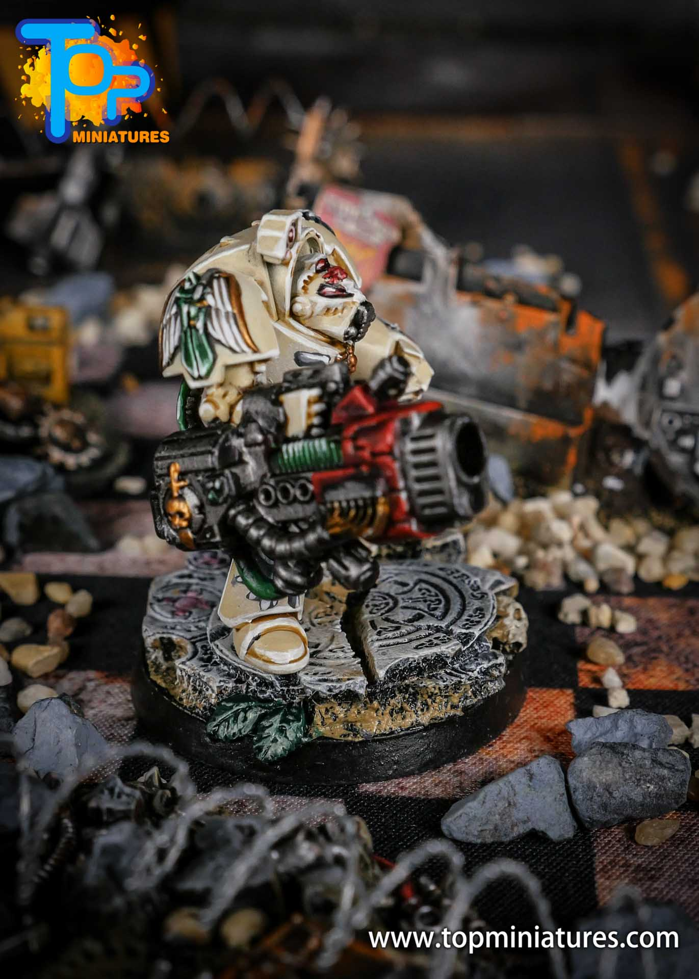 Dark Angels Deathwing Terminator Plasma Cannon (3)