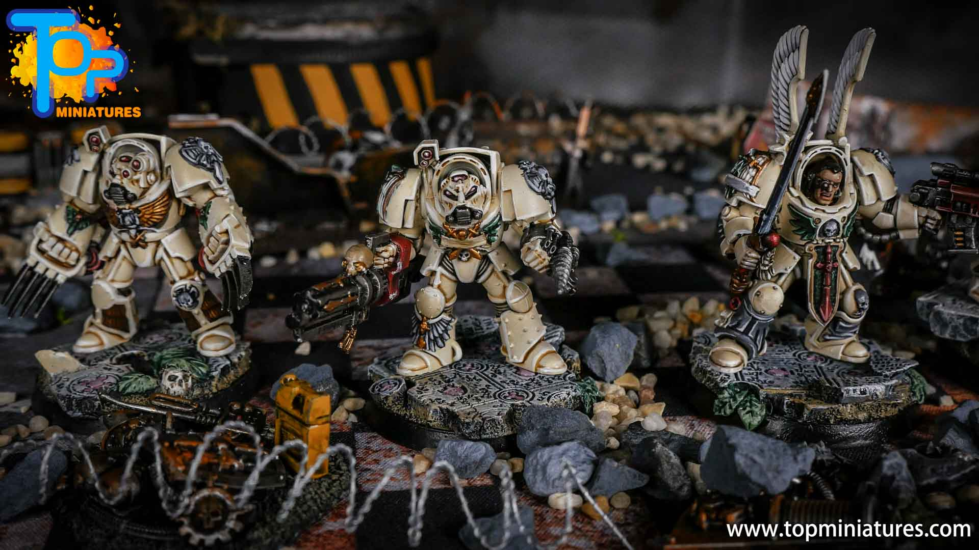 Dark Angels Deathwing Terminators painted (1)