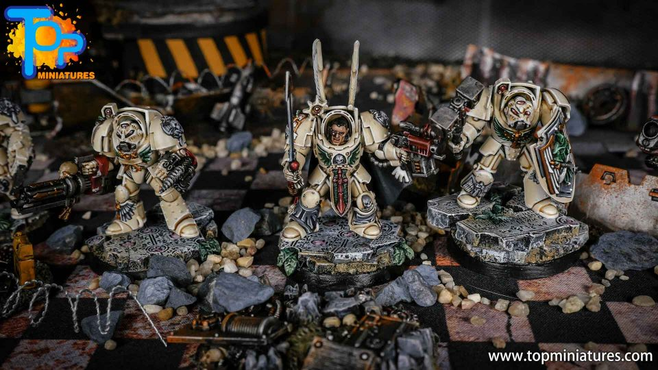 Dark Angels Deathwing Terminators