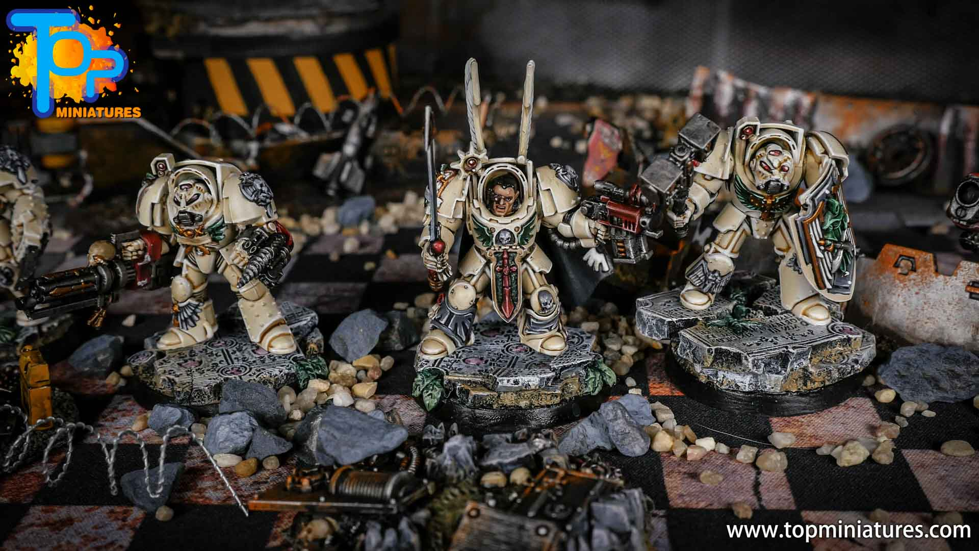 Dark Angels Deathwing Terminators painted (3)