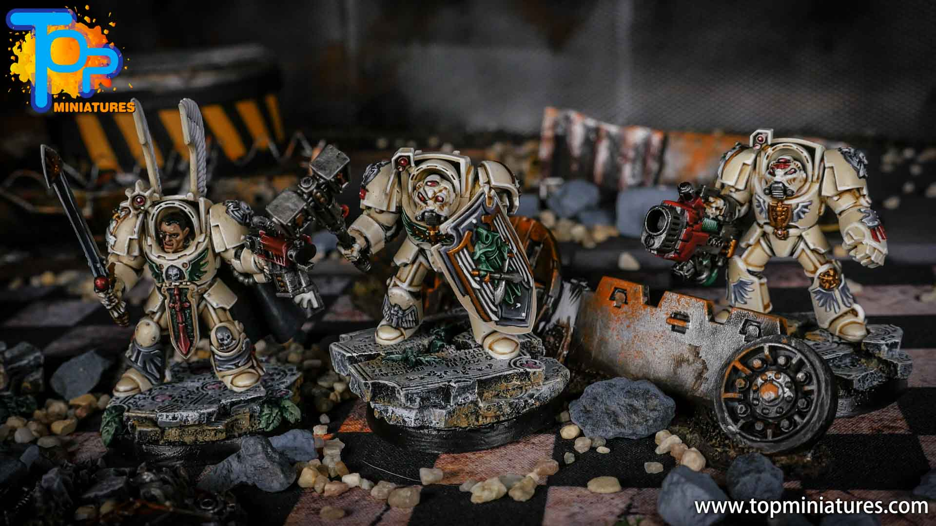 Dark Angels Deathwing Terminators painted (4)