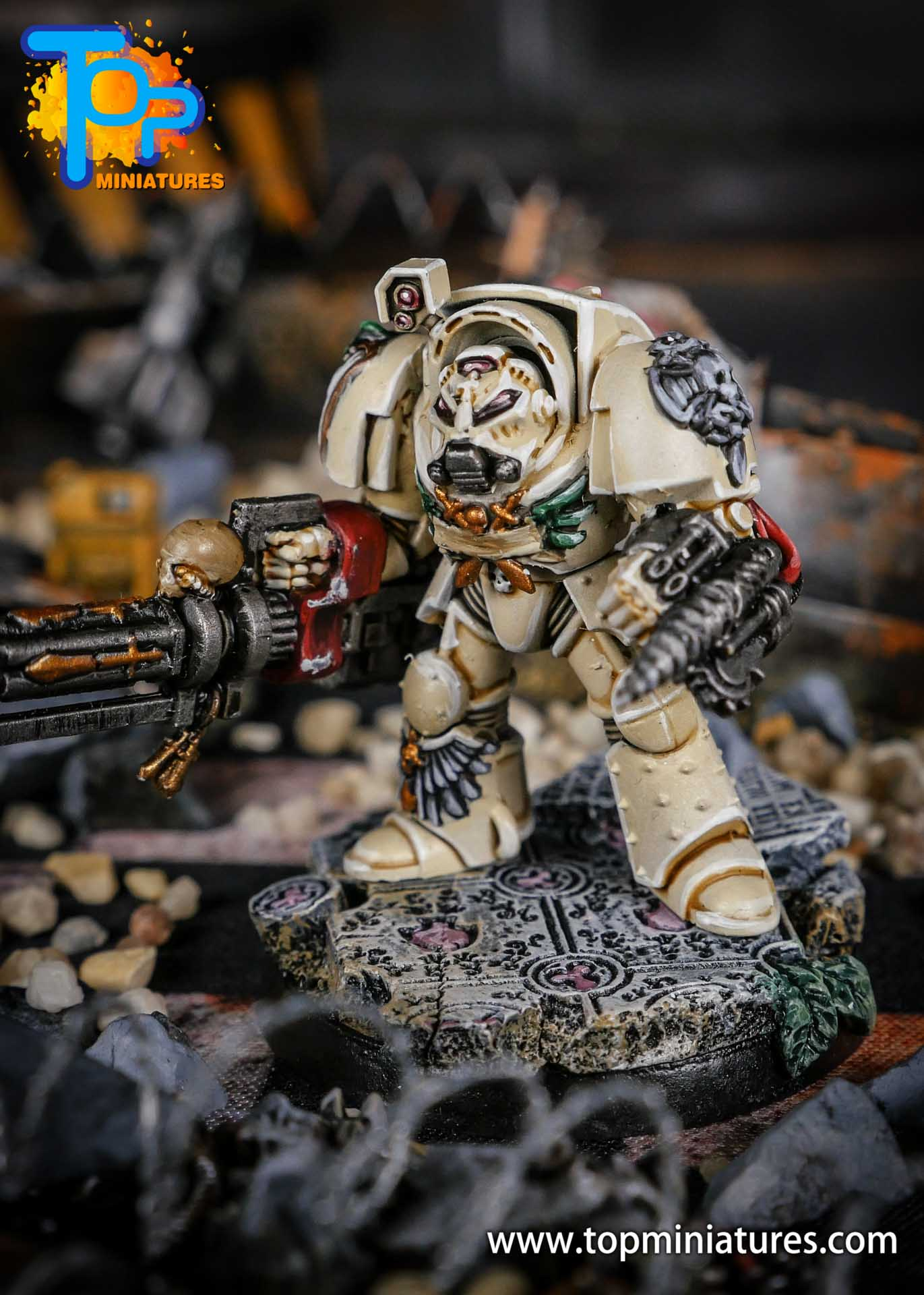 Dark Angels Deathwing terminator Assault Cannon (1)