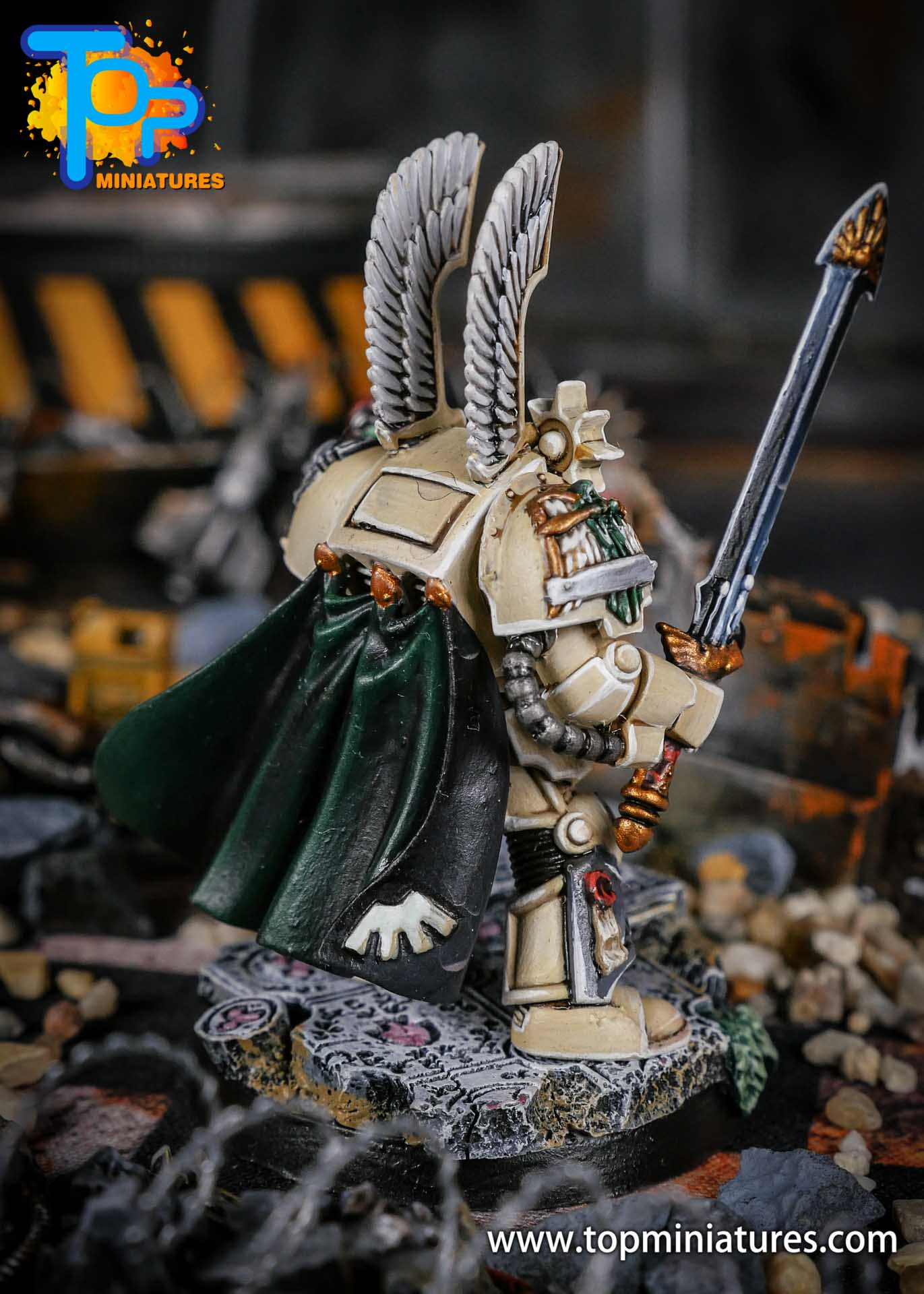 Dark Angels Terminator Captain power sword (3)