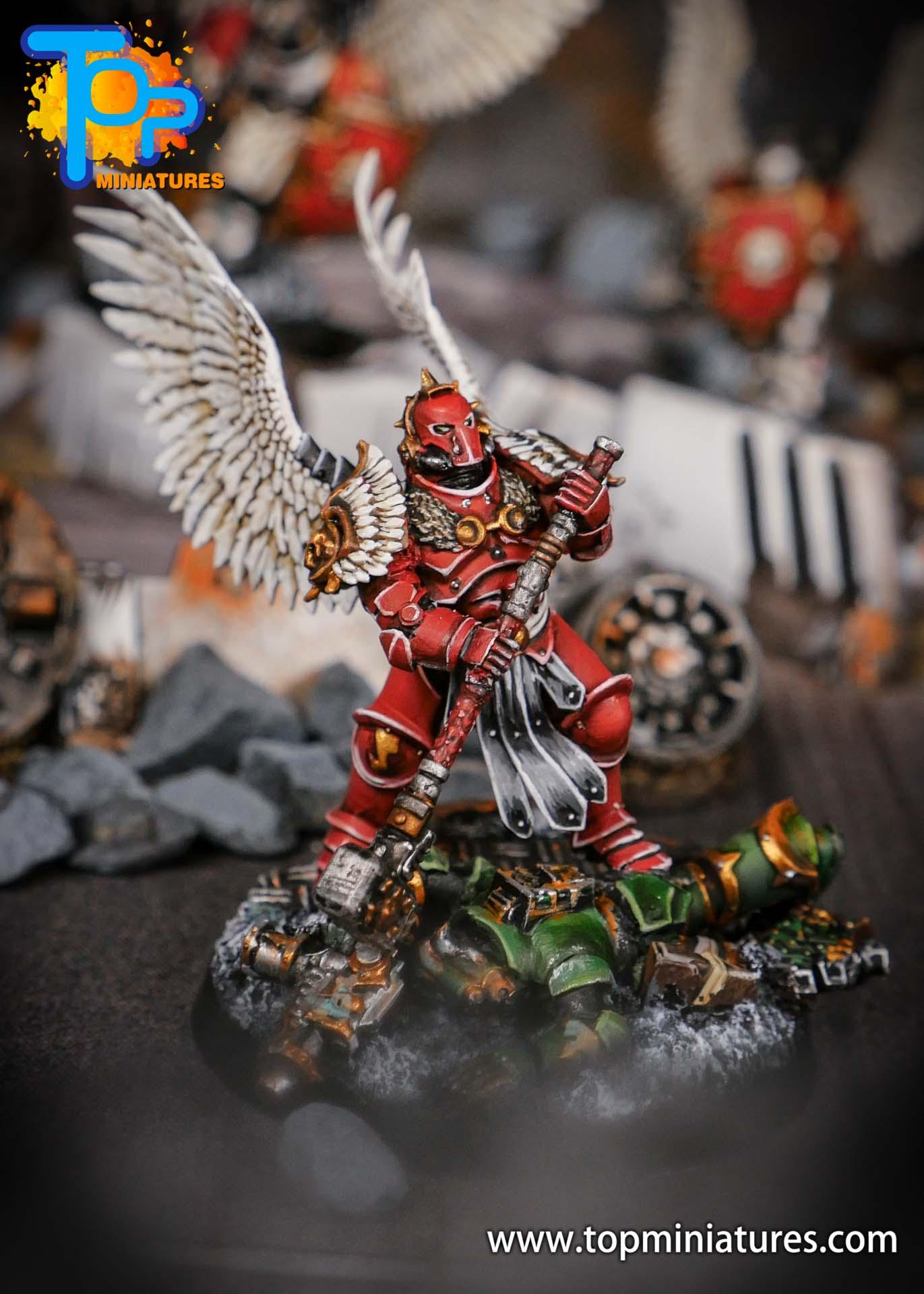 Blood Angels converted Smash Captain (1)