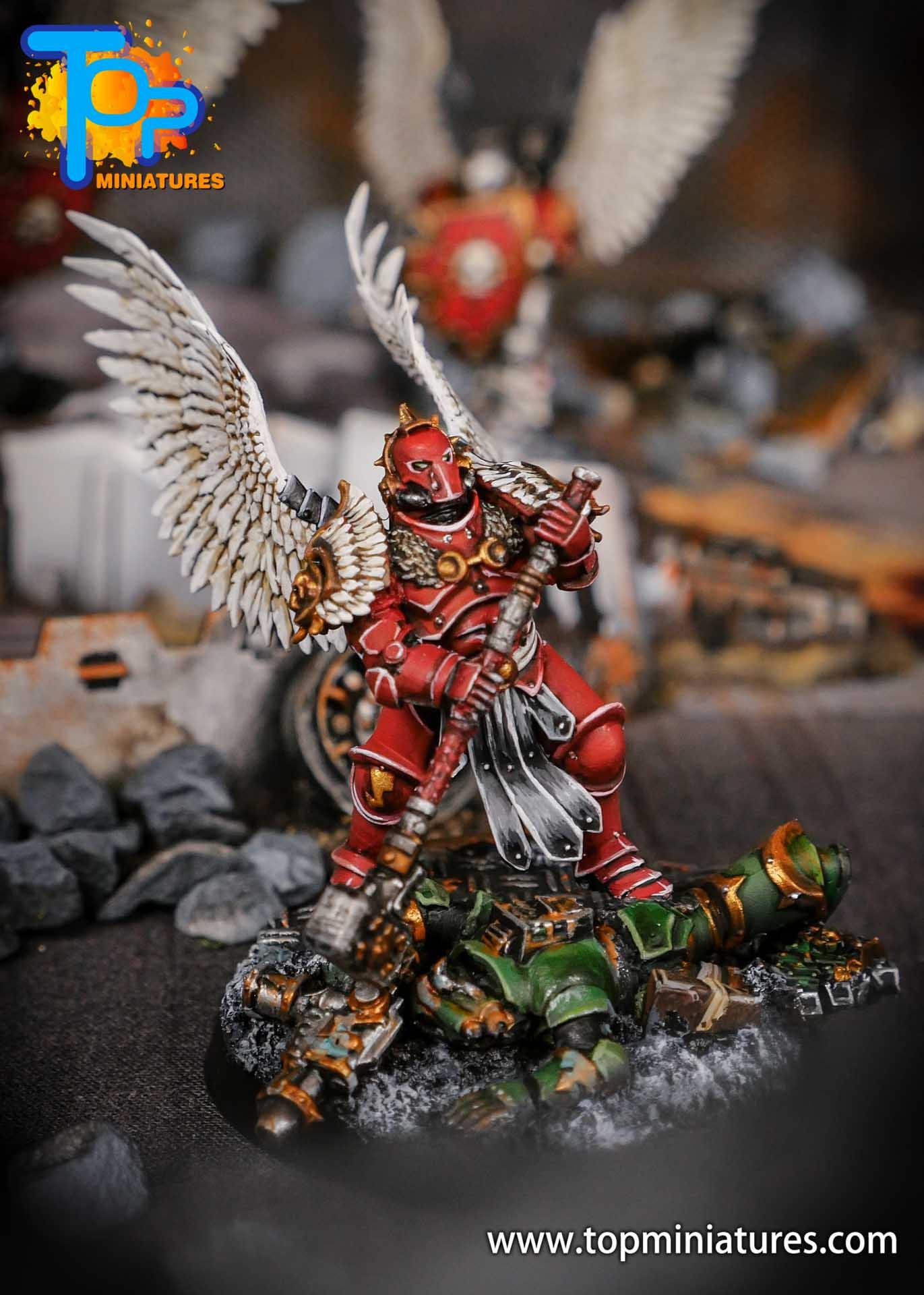 Blood Angels converted Smash Captain (6)