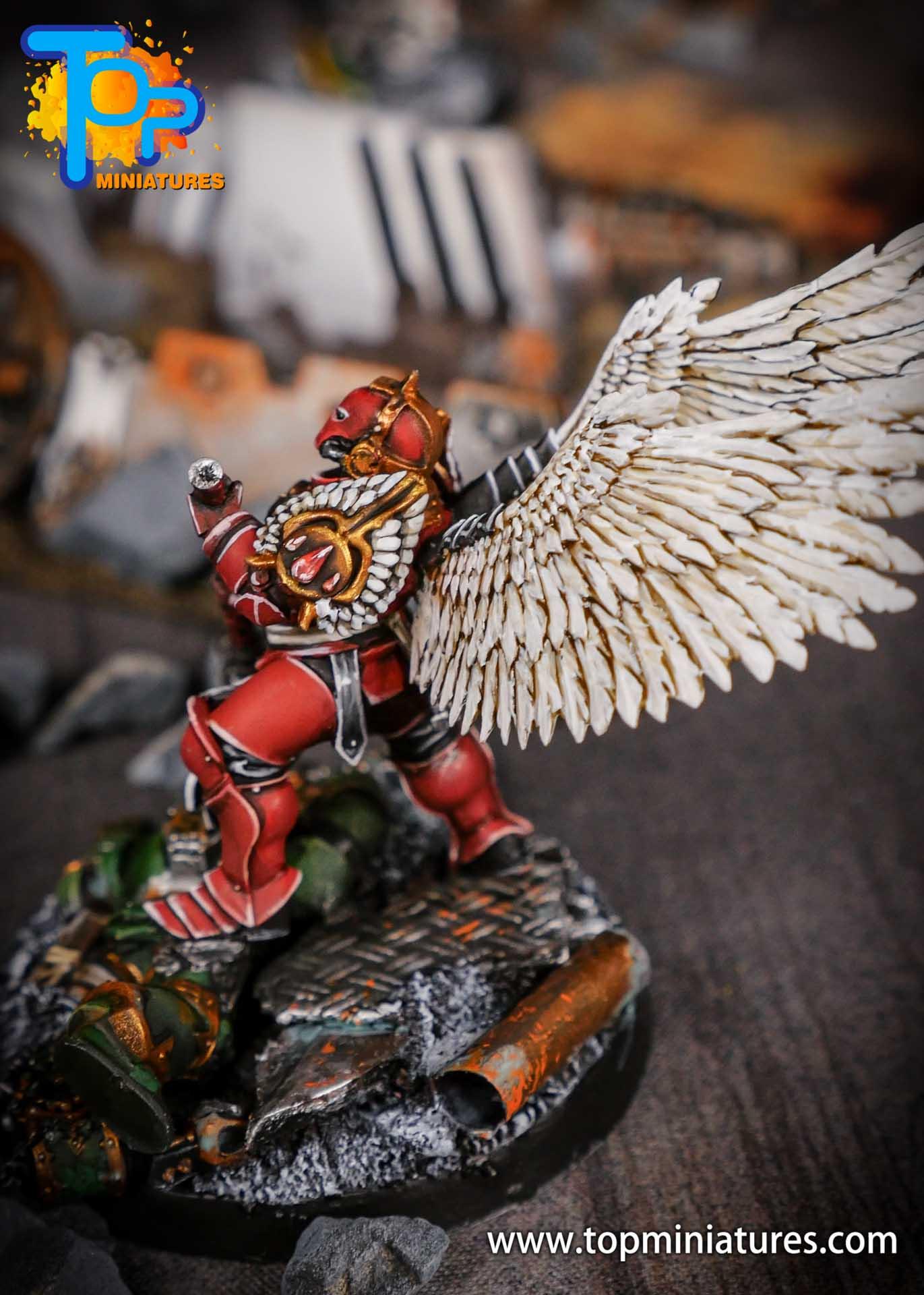 Blood Angels converted Smash Captain (7)