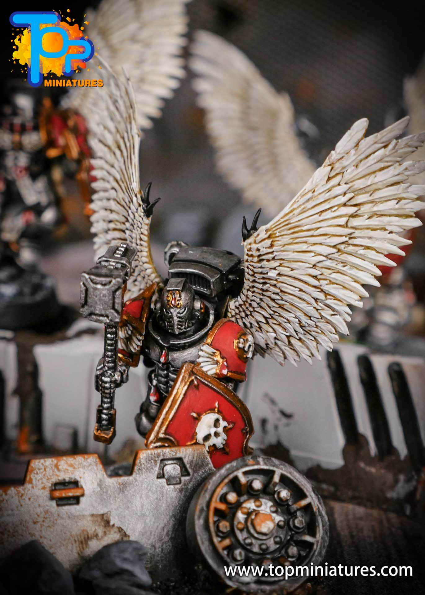 Blood Angels converted Vanguard Veterans (1)