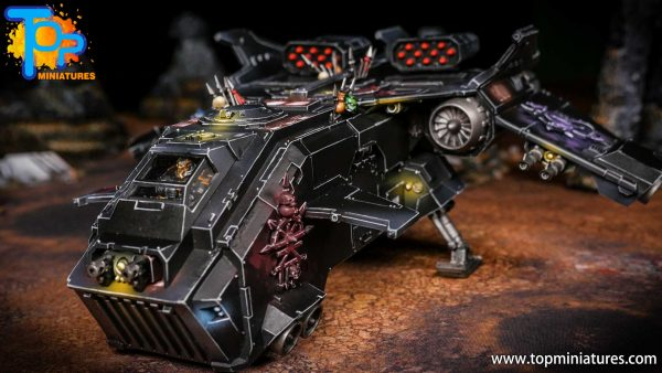 Converted Warhammer 40k Chaos Storm Eagle (10)