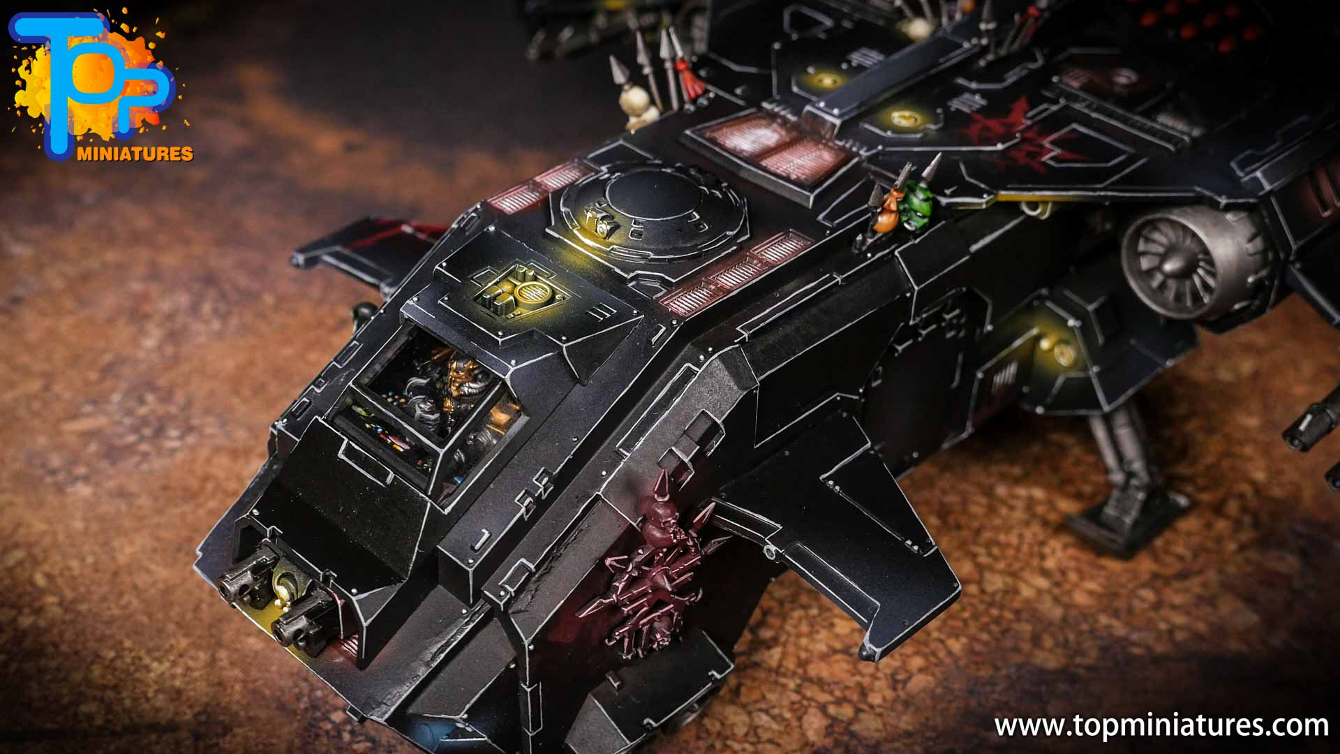 Converted Warhammer 40k Chaos Storm Eagle (11)