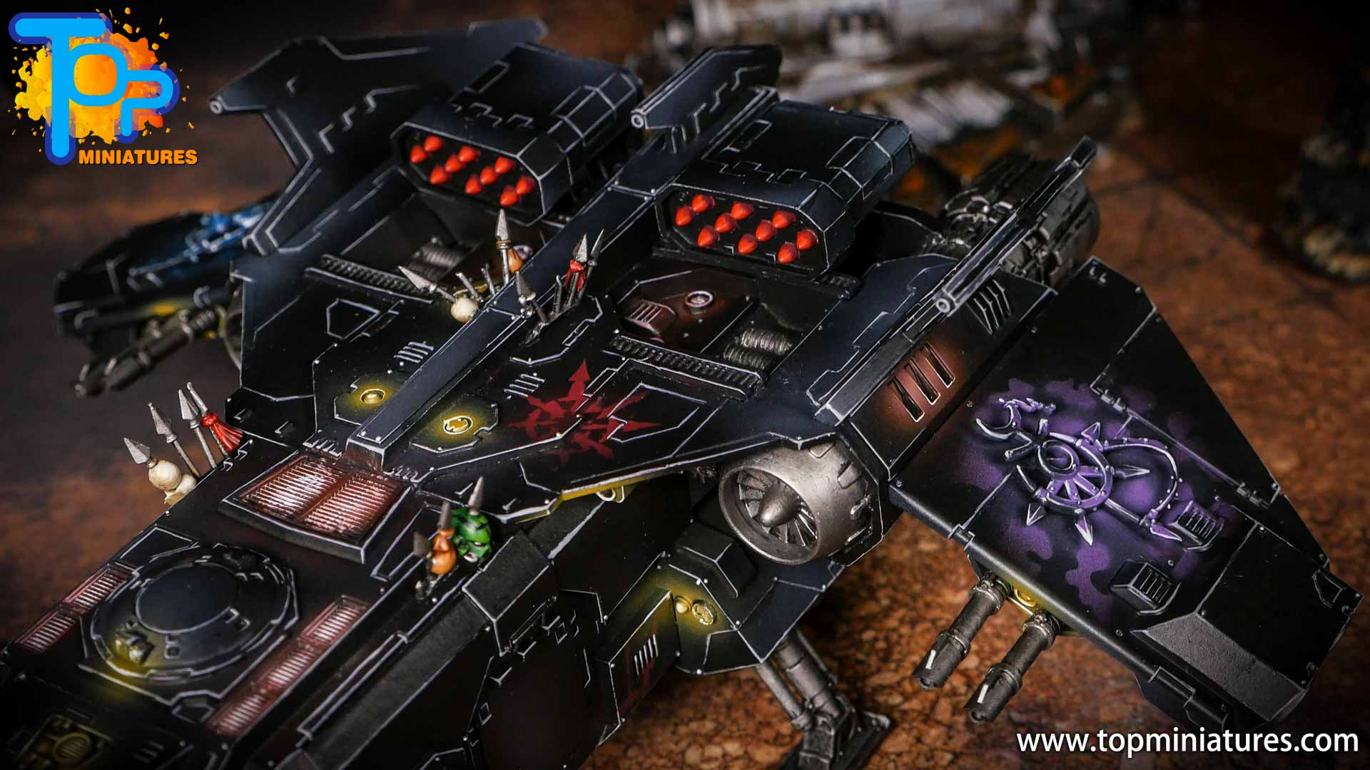 Converted Warhammer 40k Chaos Storm Eagle (12)