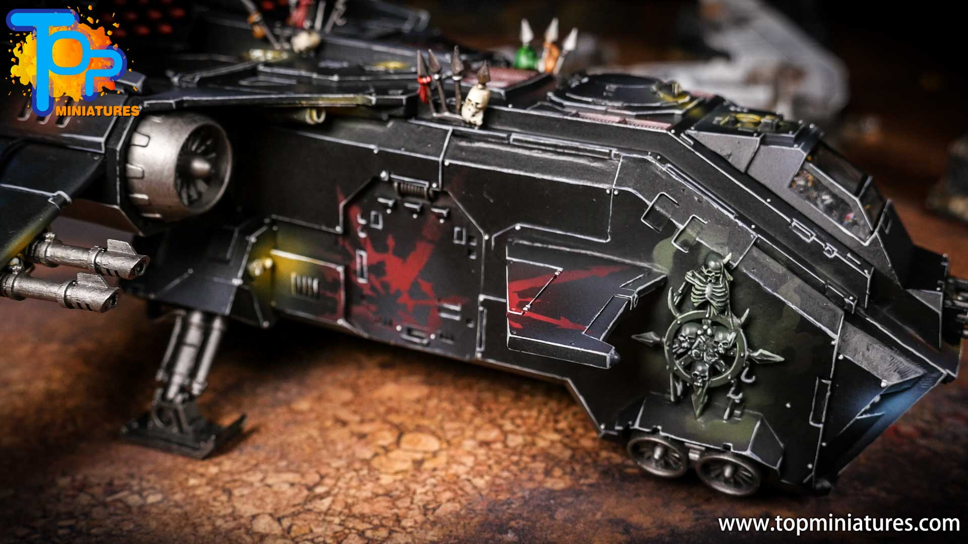 Converted Warhammer 40k Chaos Storm Eagle (18)