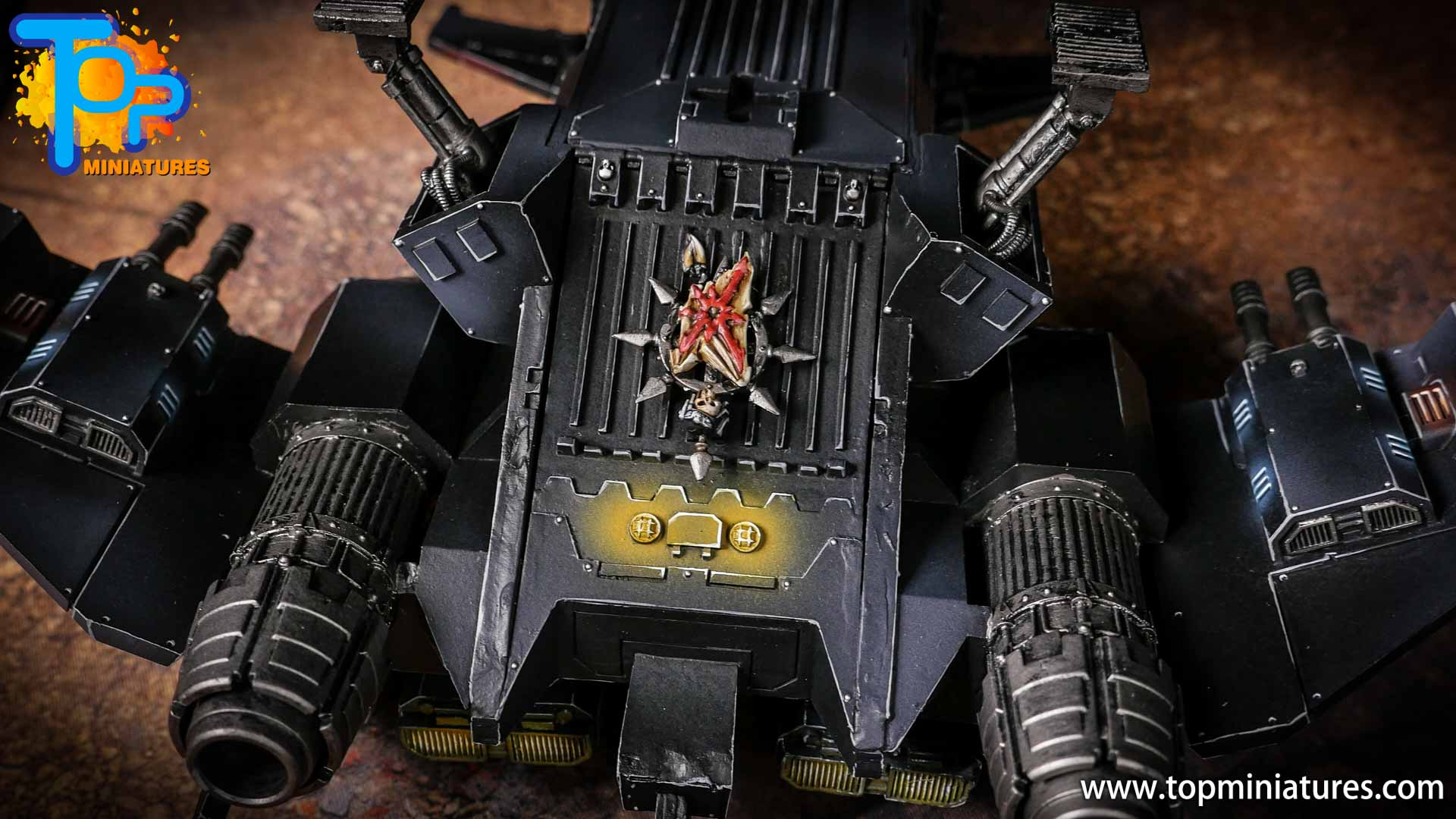 Converted Warhammer 40k Chaos Storm Eagle (24)